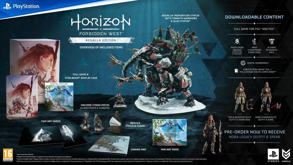Horizon Forbidden West Digitale Edition Regala