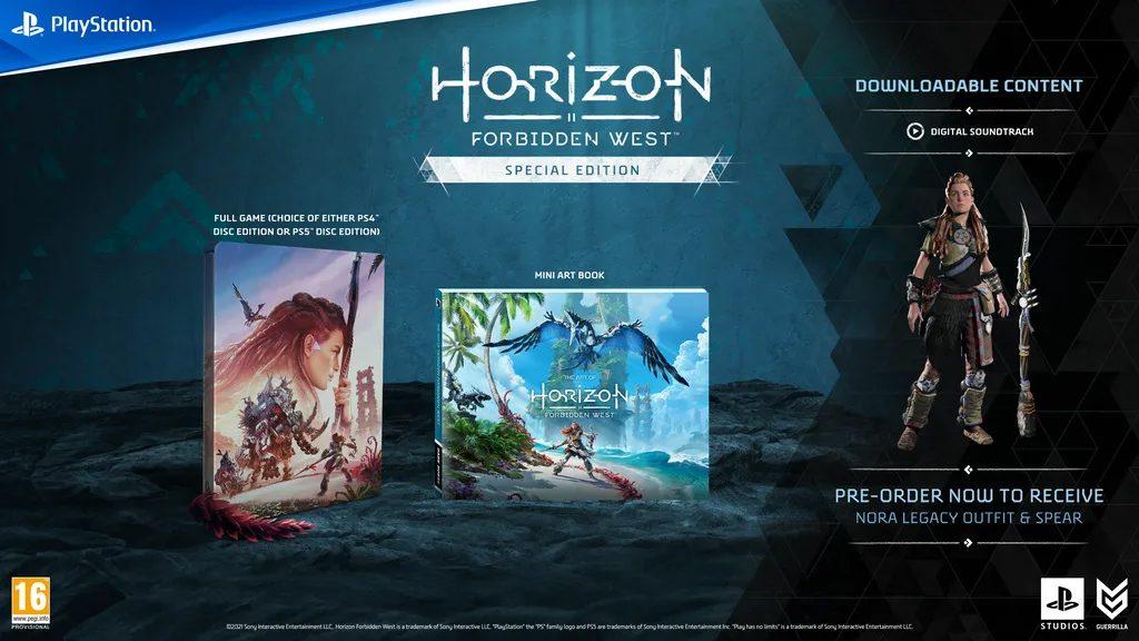 Horizon Forbidden West Spéciale Edition
