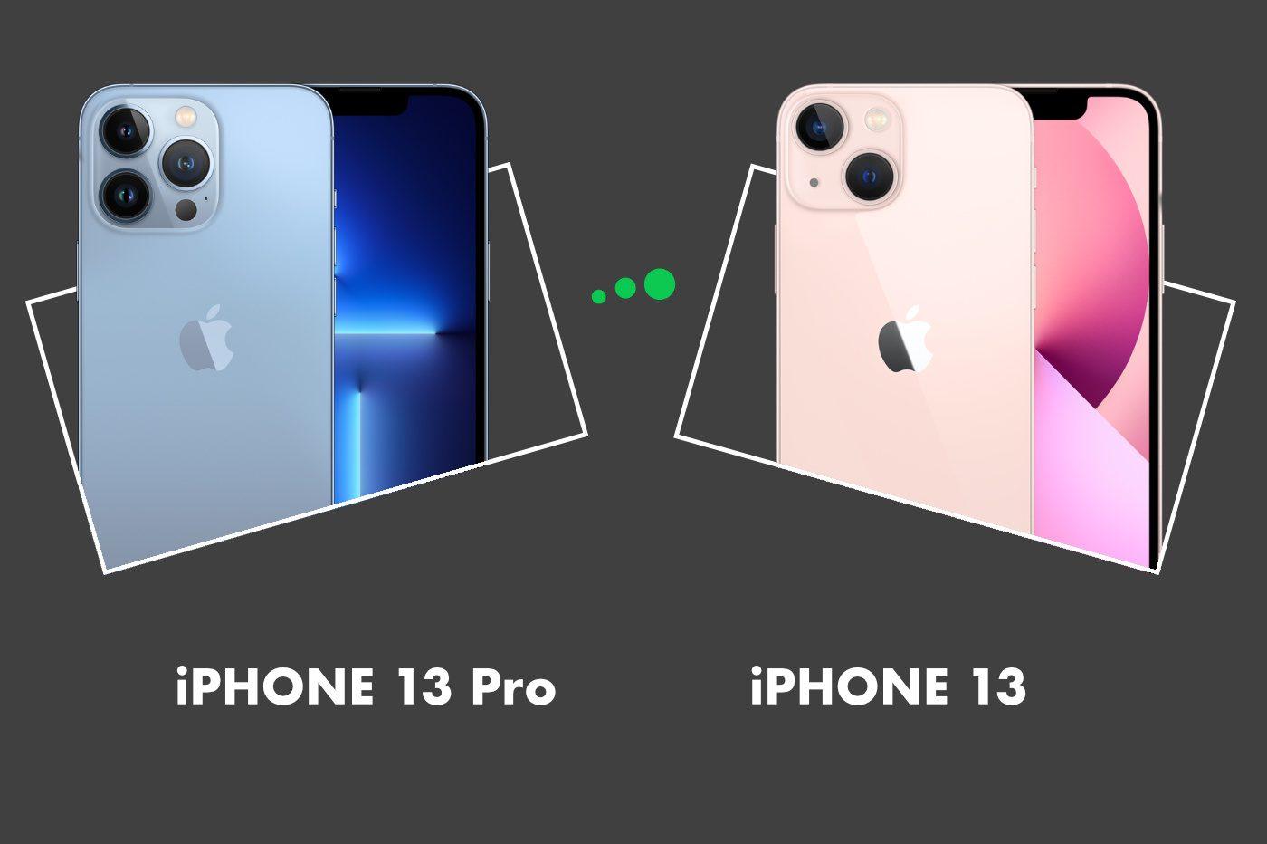 iPhone 13 vs iPhone 13 Pro