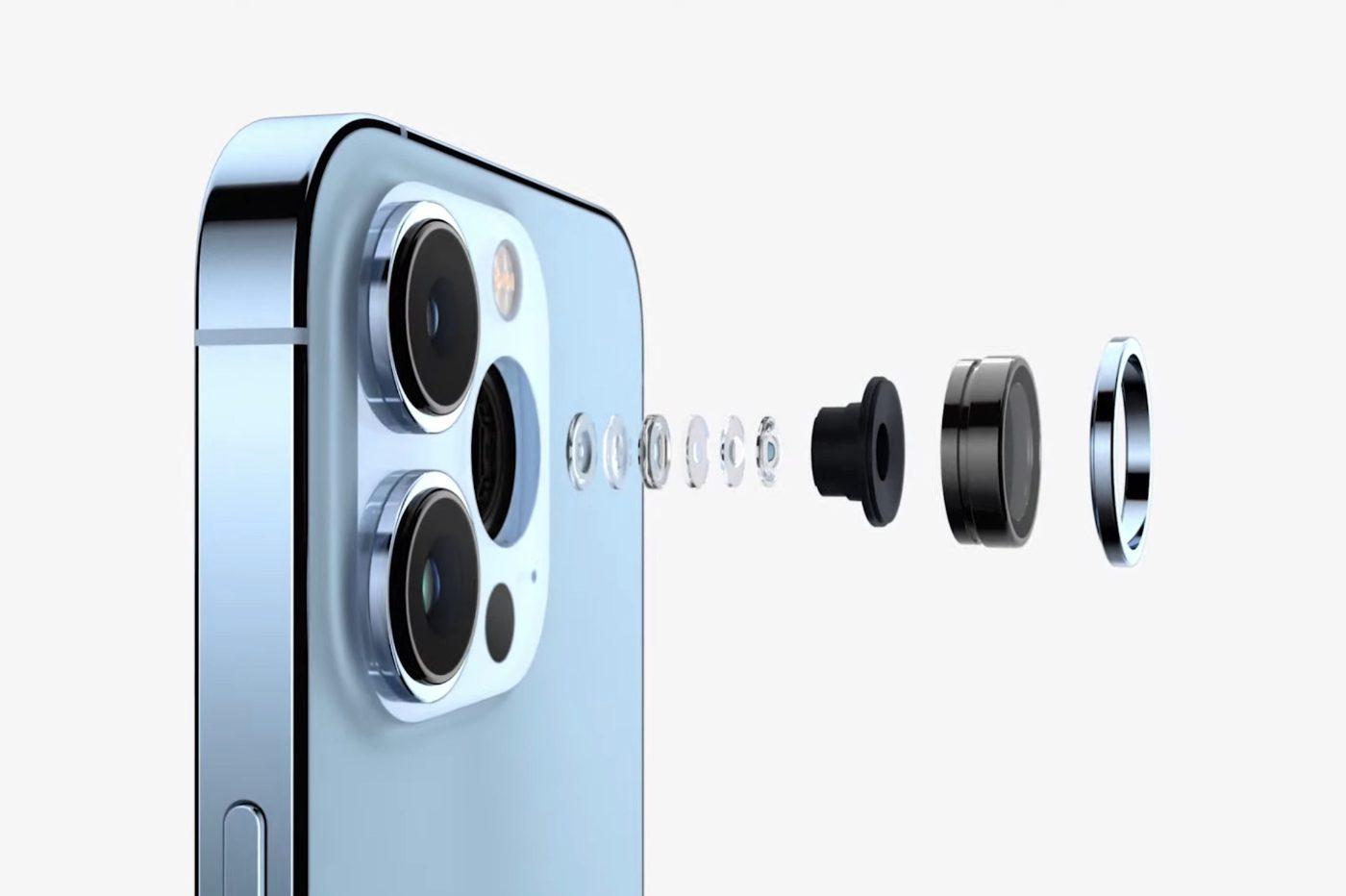 iphone 13 pro κάμερες