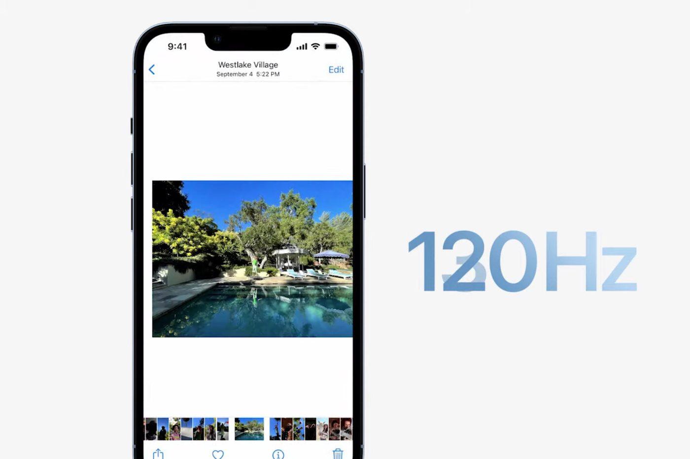 οθόνη iphone 13 pro 120hz