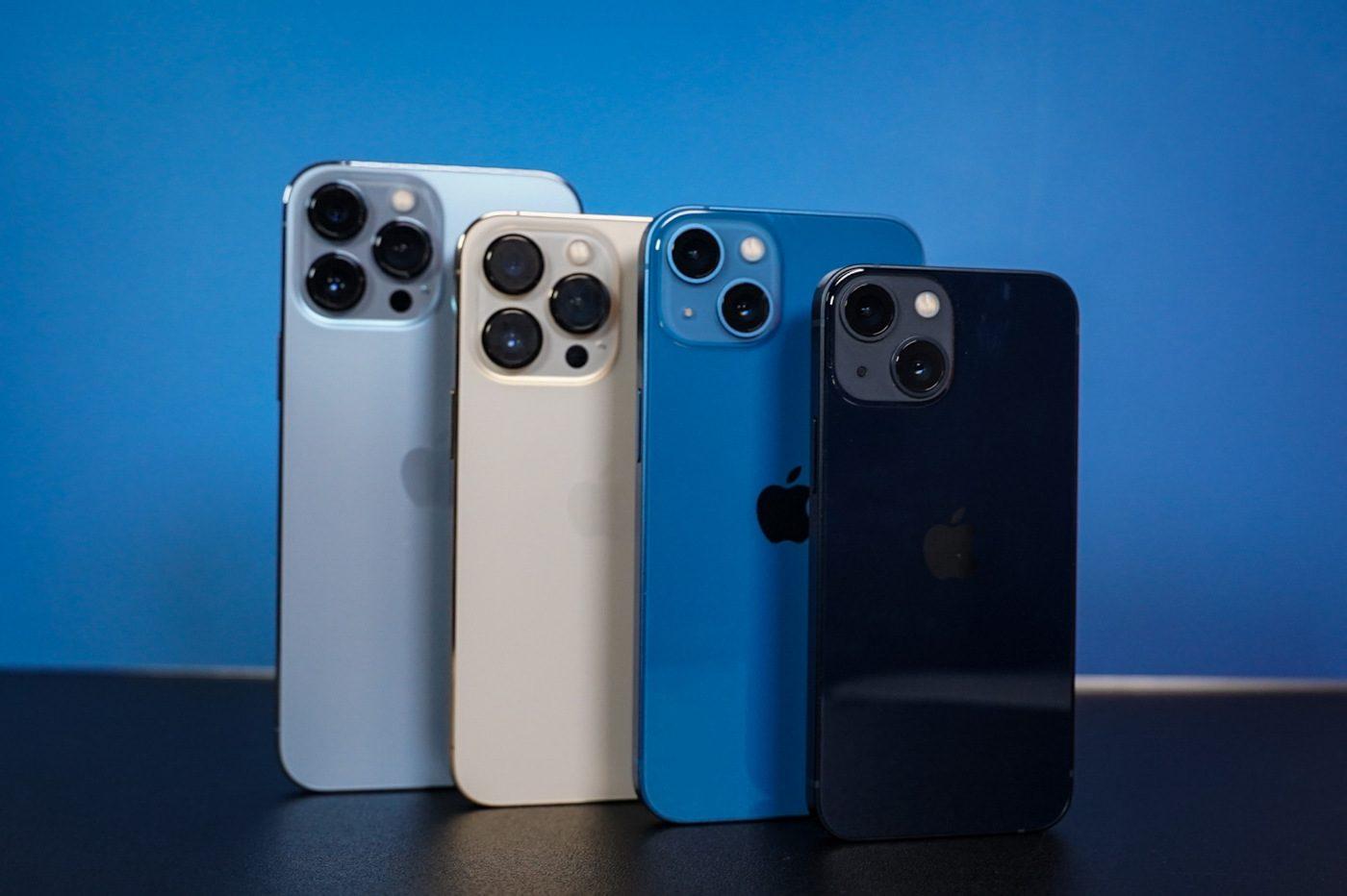 iPhone 13 pro gamme design