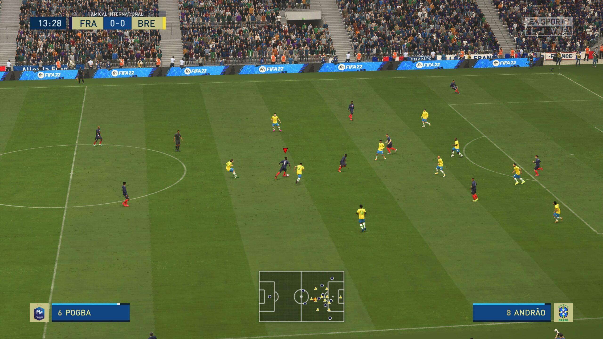test FIFA 22