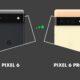 Pixel 6 ou Pixel 6 Pro comparatif