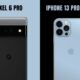 pixel 6 pro vs iphone 13 pro max