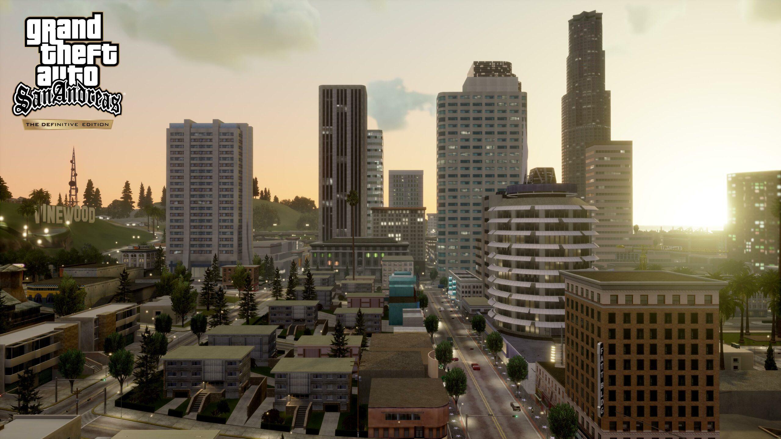 GTA San Andreas The Definitive Edition