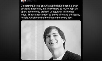 Tim Cook Steve Jobs Twitter