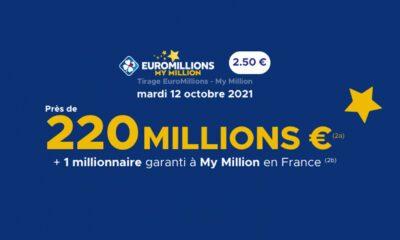 Tirage EuroMillions My Million